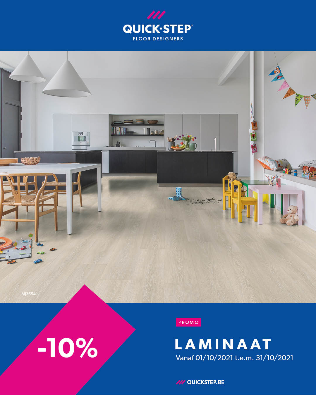 Promotie Quickstep Laminaat