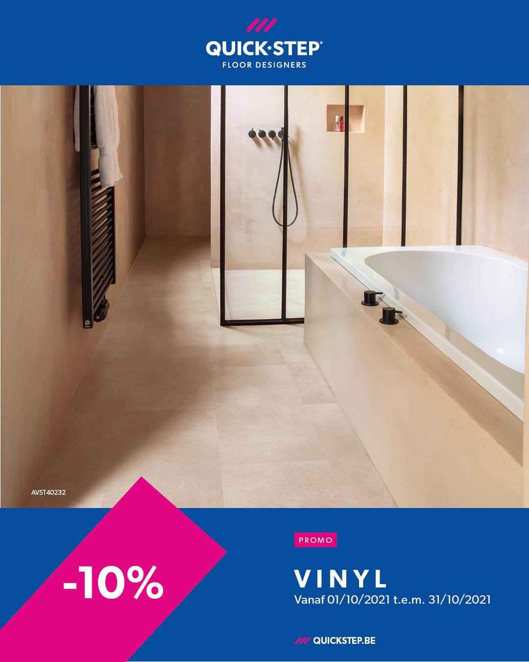Promotie Quickstep Vinyl